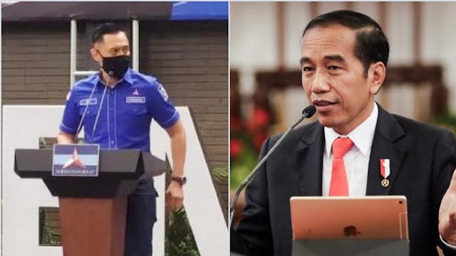 AHY: Orang Lingkaran Jokowi Ingin Ambil Paksa Partai Demokrat untuk Pemilu 2024