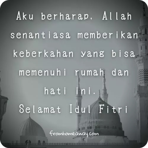 Quotes Hari Raya Idul Fitri