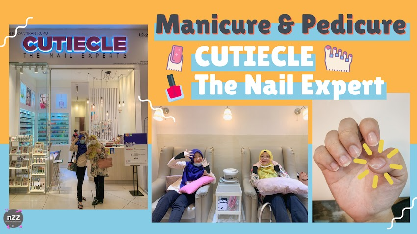 Manicure & Pedicure di Salun Kuku Cutiecle The Nail Experts, The Mines