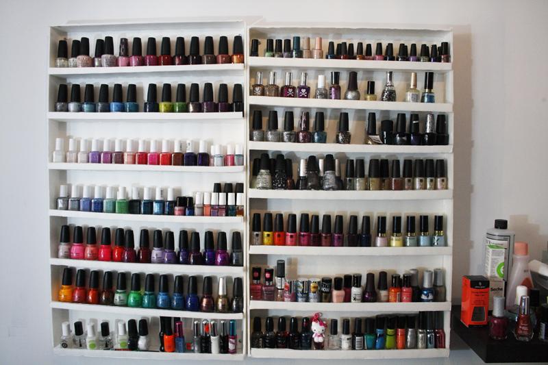 jude makeup defi du lundi rangement vernis. Black Bedroom Furniture Sets. Home Design Ideas