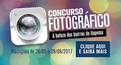Concurso fotográfico Inscrições abertas