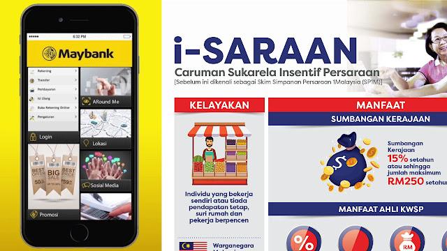 Cara Buat Bayaran i-Saraan KWSP Secara Online Menggunakan Maybank2U