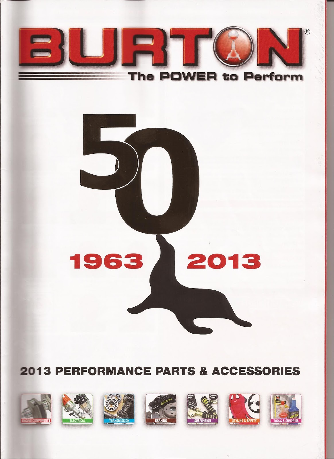 Ford Capris - Bits & Pieces: 2013 Burton Power (UK) Catalogue
