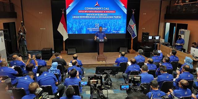 Berkumpul Di Jakarta, 34 Ketua DPD Partai Demokrat Nyatakan Kesetiaan Kepada AHY Dan Siap Melawan Moeldoko