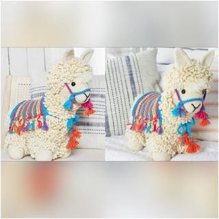 patrón amigurumi Llama crochet y amigurumis