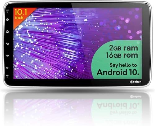 Corehan 10.1 inch Touchscreen Android 10 Car Radio