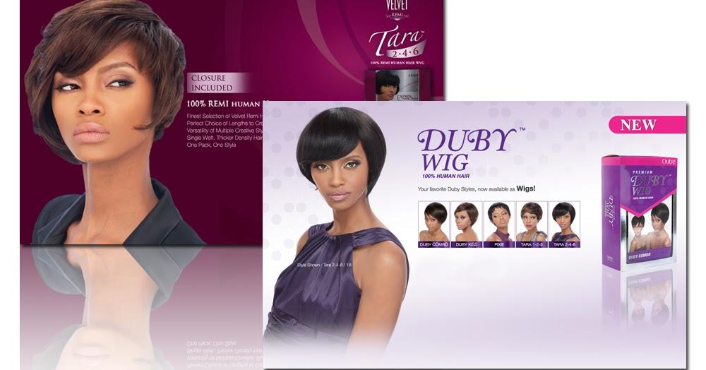 Duby Hair Weave Styles: Outre 100% Human Hair Premium Duby Wig Tara 2, 4, 6