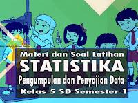 Materi Penyajian dan Pengumpulan Data Matematika Kelas 5 dan Soal Latihan K13