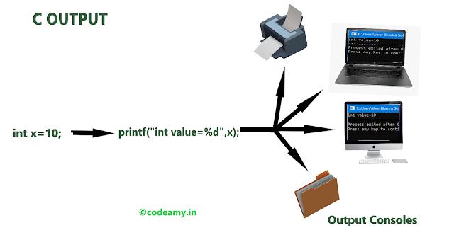 C input output