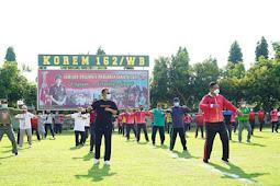 Ahmad Rizal Ramdhani dan Pemda NTB Gelar Olahraga Bersama dan Coffee Morning