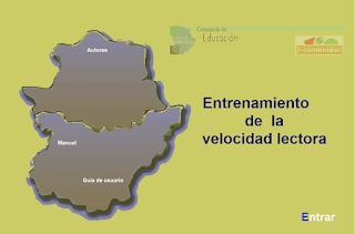 ENTRENAMIENTO DE LA VELOCIDAD LECTORA