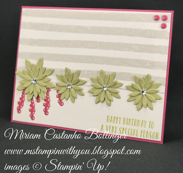 Miriam Castanho-Bollinger, #mstamppinwithyou, stampin up, demonstrator, pp, birthday card, oh so succulent stamp set, big shot, going places dsp, succulent framelits, su