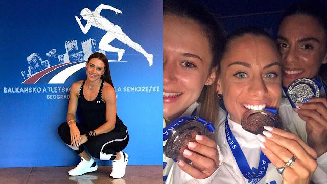 2η θέση στο Βαλκανικό Πρωτάθλημα για την Ελπίδα Καρκαλάτου του ΣΔΥ Αργολίδας στα 4Χ400