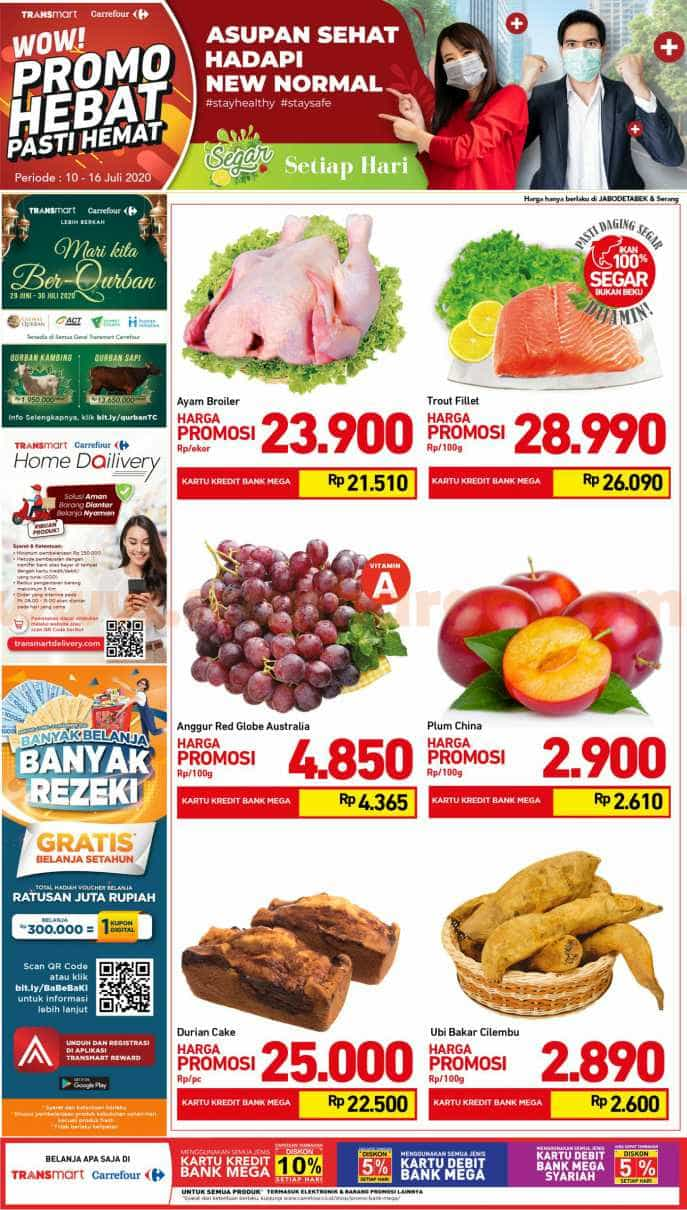 Katalog Carrefour Promo Produk Fresh Weekend 10 - 16 Juli 2020
