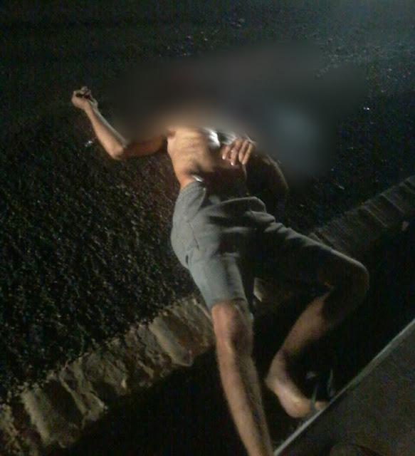 Homem tem cabeça esmagada por caminhão na BR-343 em Buriti dos Montes