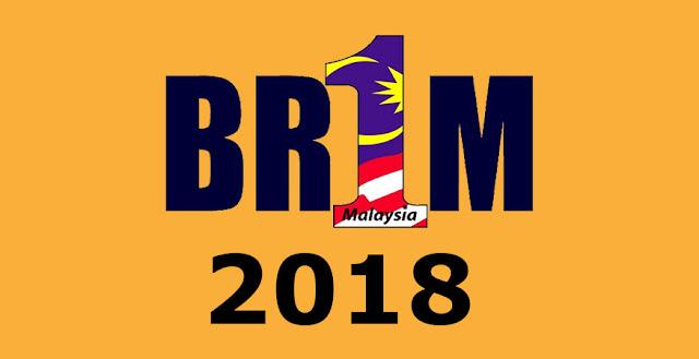 Borang permohonan BR1M 2018 mudah dengan daftar online