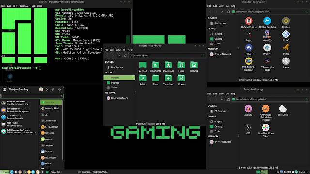 Manjaro Gaming