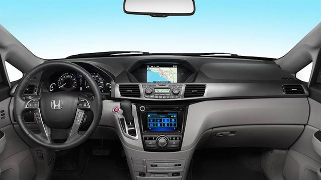 Desain Interior Honda Odyssey