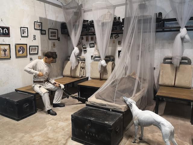 Barrack Room - Fort Siloso