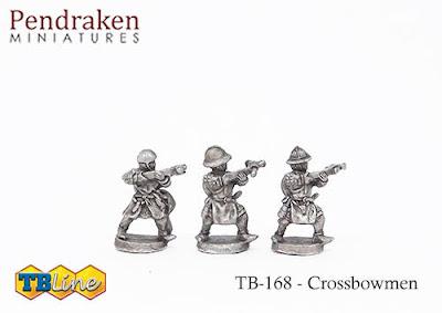 TB-4168   Crossbowmen (30)