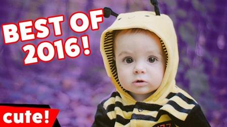 The Funniest Cute Kid Videos of 2016