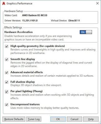 3Dconfig AutoCAD Commands