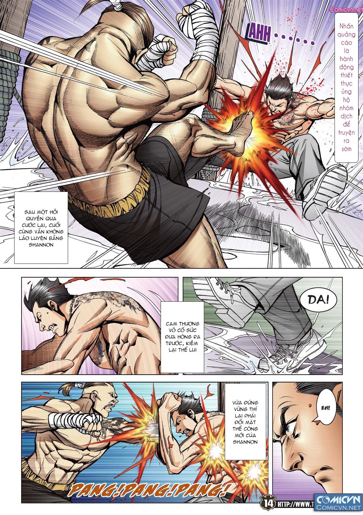 Người Trong Giang Hồ chapter 2143: ác chiến vua muay thai trang 12