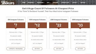 famups - buy instagram followers