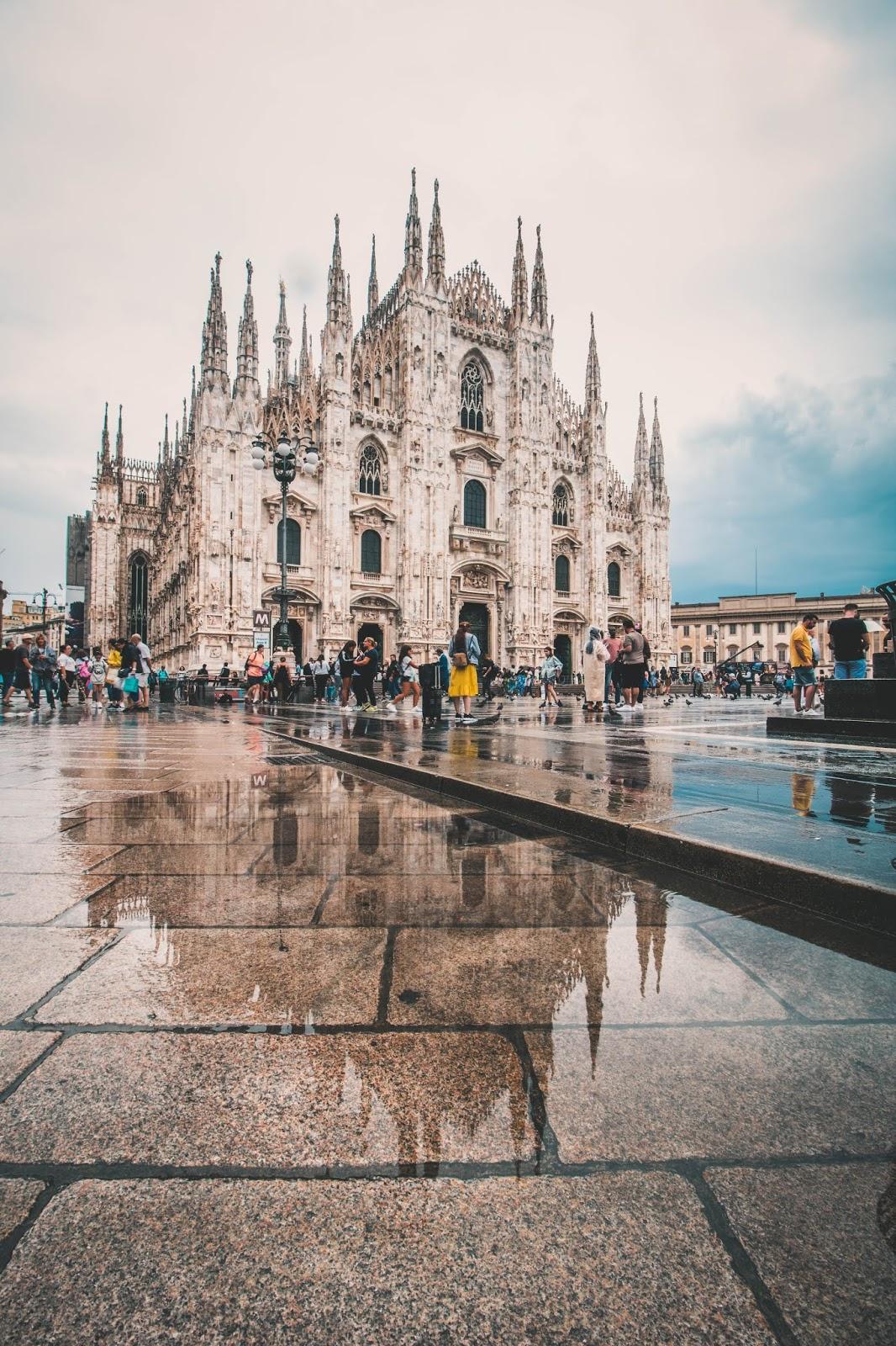 duomo Milan voyage blog