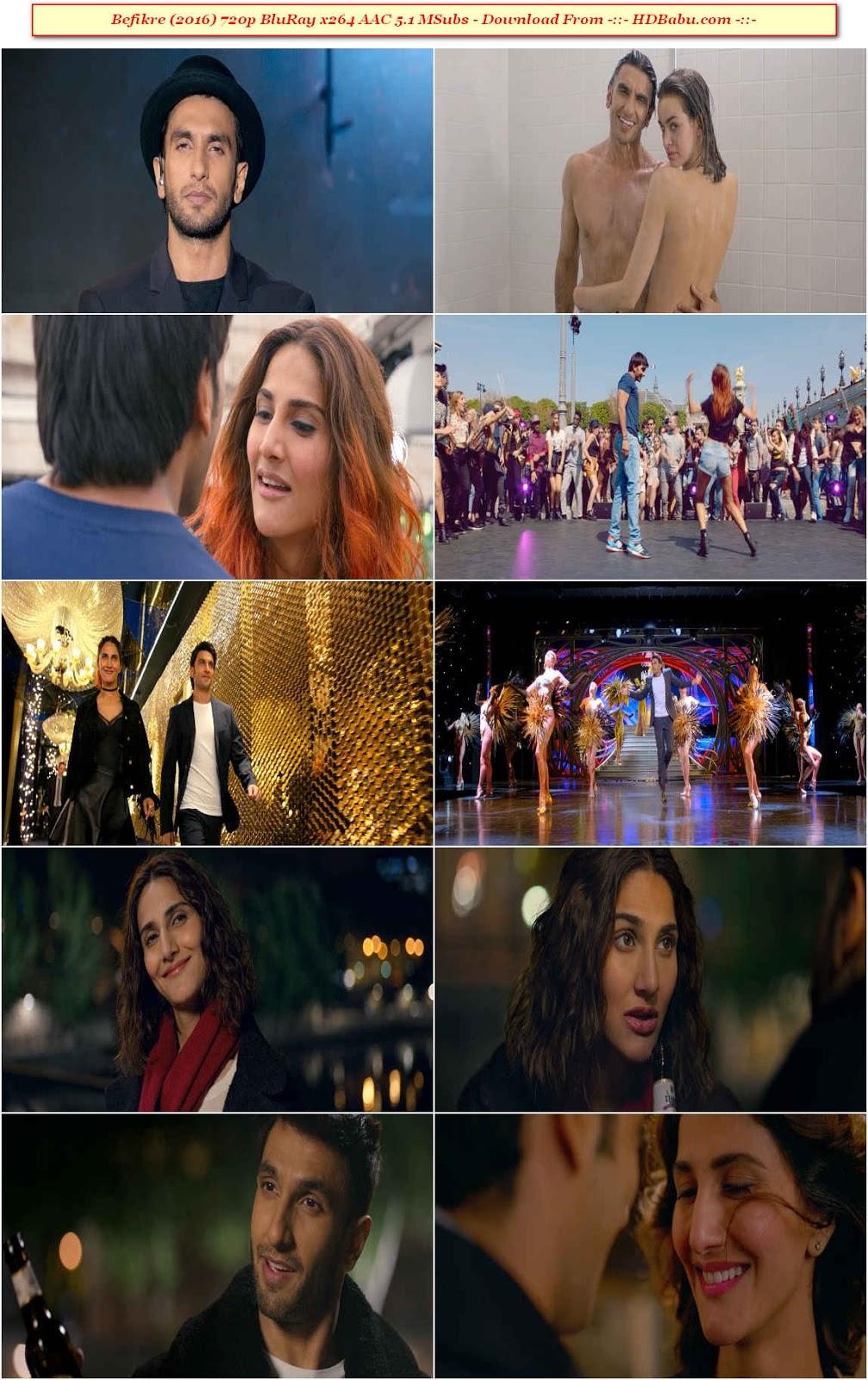 Befikre Full Movie Download, Befikre (2016) 720p BluRay x264 AAC 5.1 MSubs