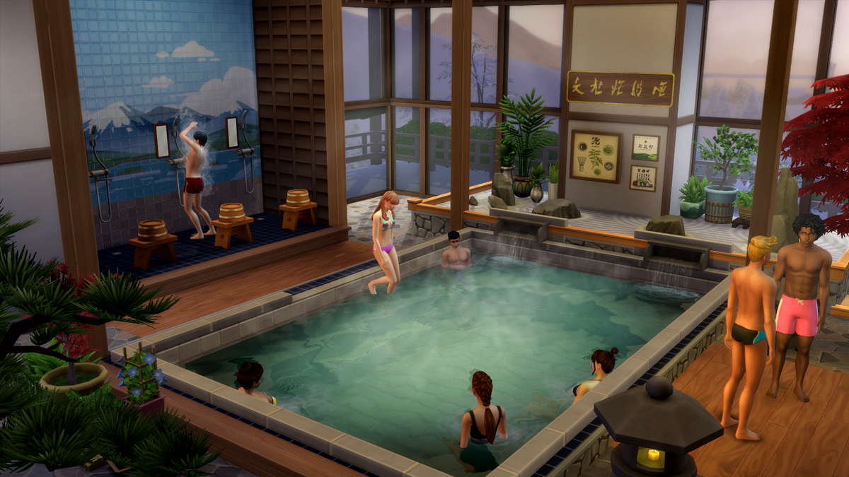 The SIMS 4 Add-On Review: Snowy Expanse screenshot 4