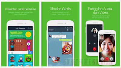 cara video call line di hp android