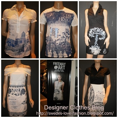 Designer Clothes Freeway S National Artist Collectors Series Fall 2011 Collection