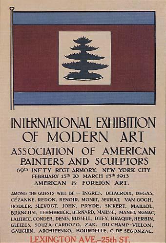 Cartel del Armory Show, de 1913
