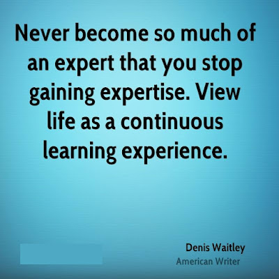 Gaining Experience Quotes