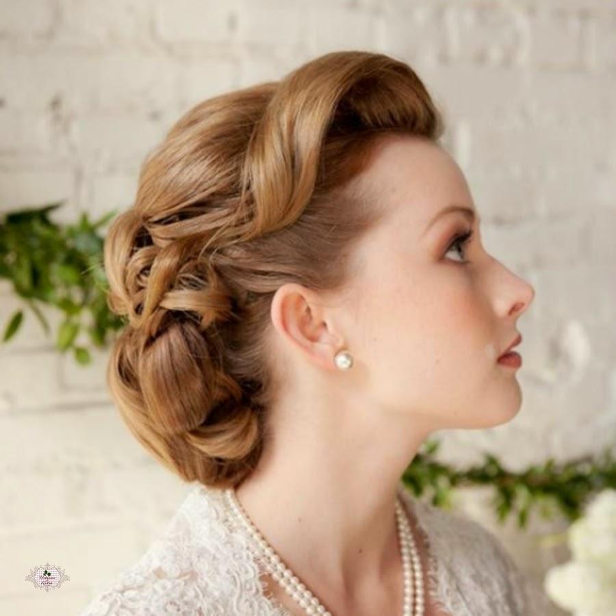 penteado de noiva vintage