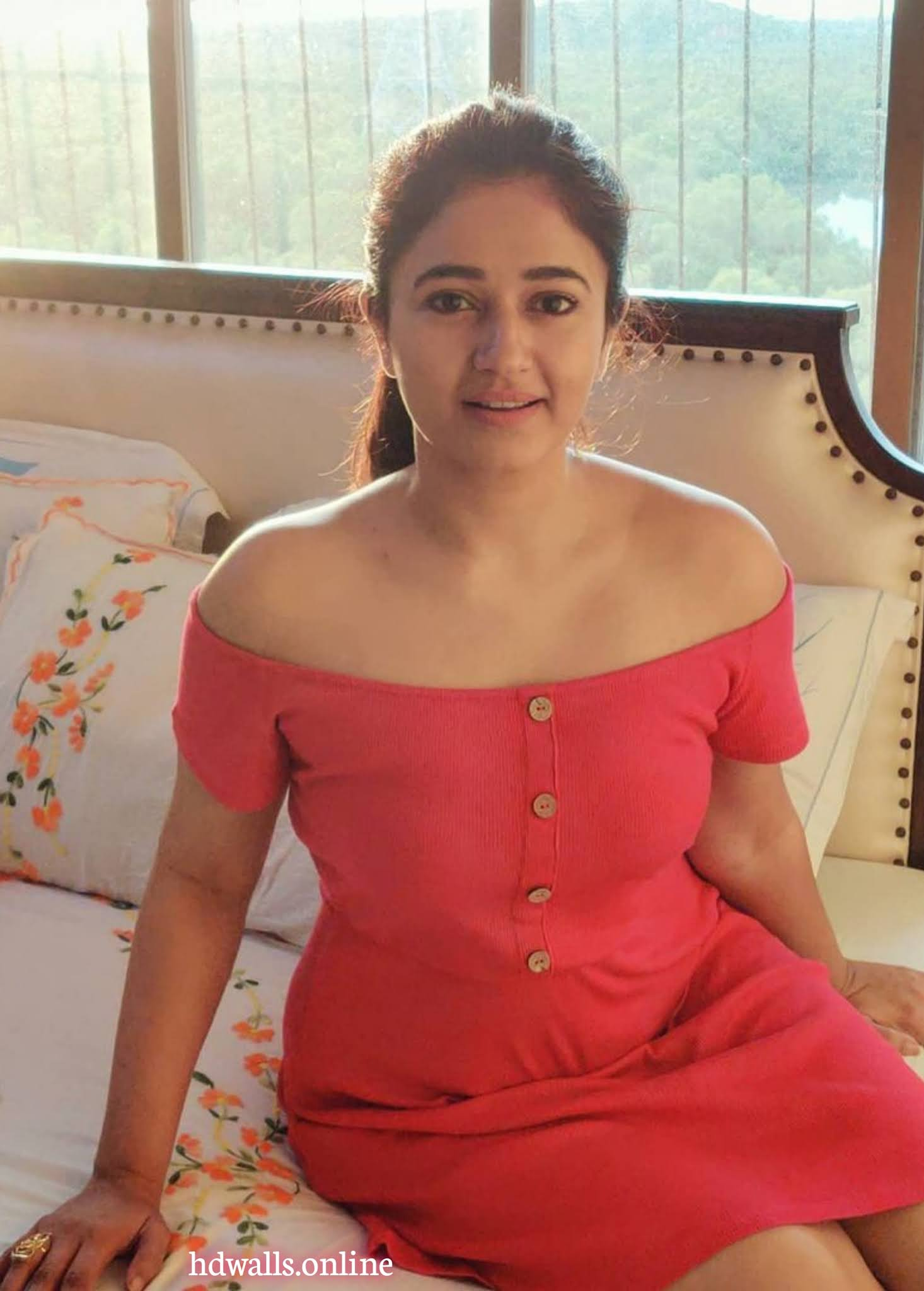 Glamorous Poonam Bajwa Pink Dress So Beautiful
