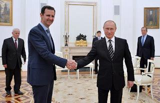 Presiden Rusia Tagih Pinjaman Perang ke Bashar Assad