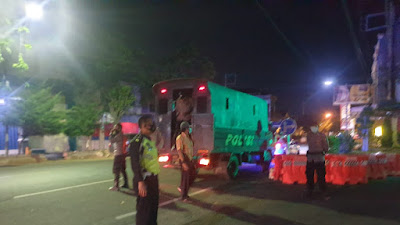 Mengantisipasi Terjadinya Kriminalitas Dan Balap Liar, Polres Situbondo Giat Patroli Malam