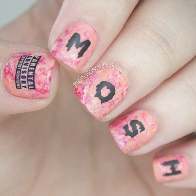 Something Kinda Creepy The Nailasaurus Uk Nail Art Blog
