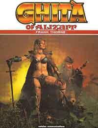 Ghita of Alizarr Comic