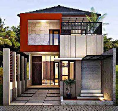 Gambar model rumah minimalis 2018 sederhana di desa