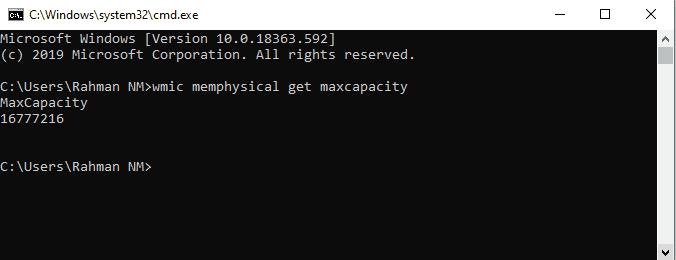 Cara Melihat Batas Maksimum dari Penyimpanan RAM