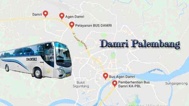 Damri Palembang Muara Enim, Jadwal & Harga Tiketnya