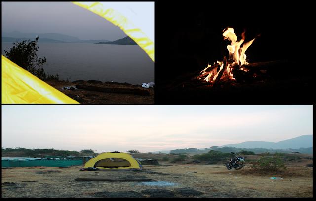 Bhandardara, Bhandardara camping