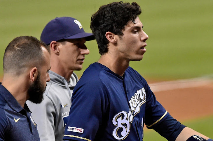 Christian Yelich To Miss The Rest Of The Season