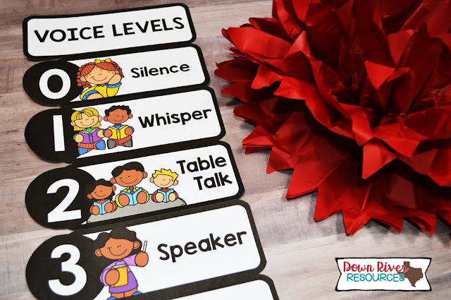 This classroom voice level chart can be used to display the appropriate voice tone in the classroom during a specific activity.