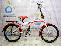 Sepeda Lipat Darson 2026 1 Speed 20 Inci