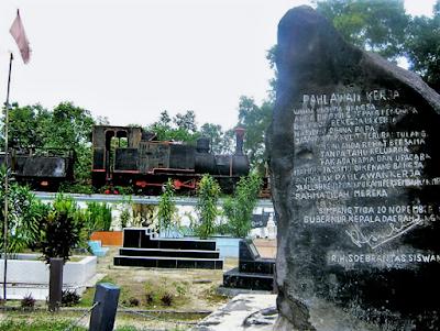 Tempat Wisata di Kota Pekanbaru Tugu Kereta Api Taman Makam Pahlawan Kerja