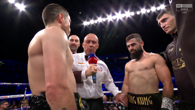 Jono Carroll Vs Scott Quigg